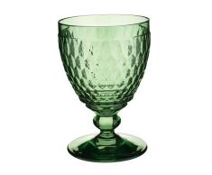 Villeroy & Boch Boston Coloured Wasserglas Green, 400 ml, Kristallglas, Grün