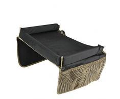 Gaorui Spieltisch mit Netztaschen für Kindersitz Play Tray Esstisch Knietablett für Kinderwagen