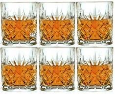 RCR Crystal Melodia Whiskygläser, Kristallglas, 310°ml, 6 Stück Lieferung in Geschenkverpackung