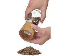WMF 652304500 Gewürzmühle aus Holz und Glas Ceramill Nature