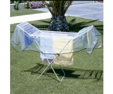 Rayen 6009 Wäscheständer Abdeckung, hängen sie ihre Kleider auch bei Regen auf, 260 x 122 cm