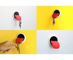 Magnetischer Schlüsselhalter Zunge / Tongue | Schlüsselkasten, Schlüsselbrett im Rolling Stones Look | extra stark, hält 15 Schüssel