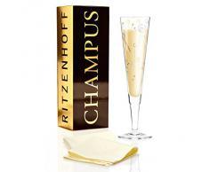 Ritzenhoff 1070224 Design Champagnerglas, Sektglas mit Stoffserviette, Ulrike Klaus, Herbst 2015