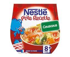 Nestlé Bébé © Nestlà pA € ™ Titus Rezept Couscous (8 Monate) mit dem 2 200G Von Töpfe (Set von 6 oder 12 Töpfe)