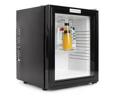 Klarstein 10005439 Mini-Kühlschrank / B / 169 kWh/Jahr / 47 cm / 24 Liter Kühlteil / Minibar / schwarz