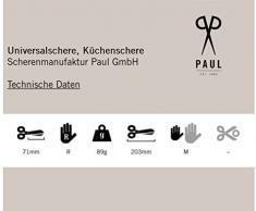 Scherenmanufaktur Paul 979 Küchenschere, 20 cm