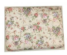 GMMH Knietablett Lavendel Laptop Tablett 33 x 43 x 5 cm
