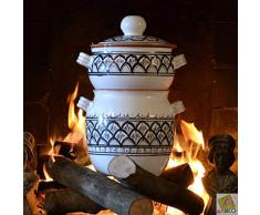 Couscous-Topf groß Bakir, Grau