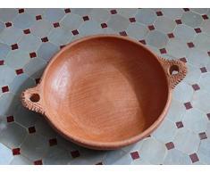 Marokkanische Tajine-Pfanne zum Kochen unglasiert ø 26 cm - ohne Deckel