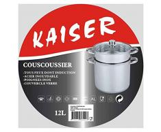 CousCous-Topf Edelstahl 12 L indcution Kaiser – SL