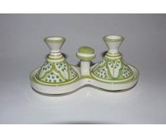Kleine marokkanische Tajine für Gewürze Salz Pfeffer Tischdekoration Küche