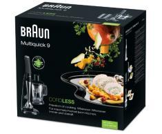 Braun MQ 940cc Multiquick 9 kabellos Stabmixer, 2,5 Kg, schwarz