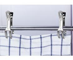 Handtuch Klammer,Strandtuch Clips Edelstahl Große Wäscheklammern für Tägliche Wäsche Strandtuch Badetuch Bettwäsche und dicke Kleidung 11cm 10packs