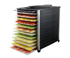 ZXL Spezialtrockner Lebensmittel Haushalt Süßkartoffel Mango Getrocknete Fischgarnelen Kommerzielles Obst und Gemüse Getrocknetes Fleisch Obst Tee Trocknen (Größe: 33 * 46 * 49cm)