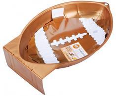 Wilton Backform Neuheit Rugbyball, Aluminium