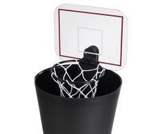 Basketball Korb Mülleimer/Papierkorb mit Sound, bunt
