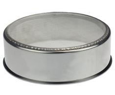Sieb / Küchensieb Set 6 Teilig Rund I Mehlsieb Edelstahl I Backsieb Backzubehör für Herstellung von Brot / Kuchen / Cookies STAR-LINE®