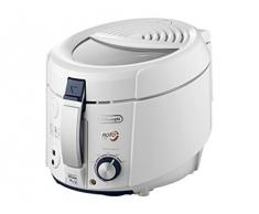 DeLonghi F 38436 Roto Fritteuse | mit herausnehmbarem Frittierbehälter | Ölablauffunktion | weiß