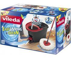 Vileda EasyWring & Clean Komplett-Set, Wischmop und Eimer mit PowerSchleuder