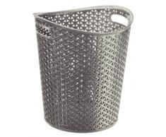CURVER Papierkorb, Silber