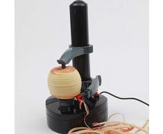 duquanxinquan Kartoffelschäler Electric Peeler Apfelschäler Gemüseschäler Obstschäler Elektro Schäler Edelstahl für Obst & Gemüse