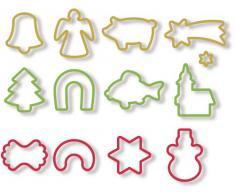 Delícia Weihnachten Ausstechformen, 13PCS