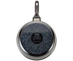Silit Professional Bratpfanne Ø 26 cm hoch, Funktionskeramik Silargan, mit Stiel Keramikpfanne Kunststoffgriff Induktion