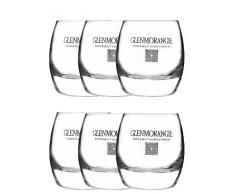 6 Glenmorangie Whiskygläser Tumbler,Whisky Gläser,Whiskey Glas,Longdrink,NEU