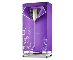 Elektrische Trockner Hause wasserdicht stehend Edelstahlrohr Oxford Tuch 1200W schnelle Wäschetrockner kleine Garderobe, kann 30-180 Minuten Sein