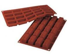 Cake Company Silikon-Form Rechtecke | 50x25 mm | Höhe: 20 mm | Temperaturbeständig von -40 bis + 230 Grad | Silikon-Backform für Torten-Deko & Kuchen-Deko | Back-Form aus lebensmittelechtem Silikon