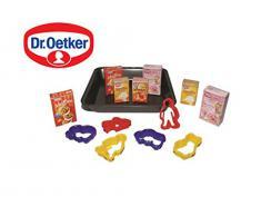 Tanner 0310.9 - Dr. Oetker Backblech mit Zubehör: 5 Ausstechförmchen, Markenminiaturen