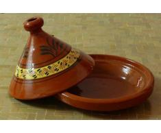 Marokkanische Tajine zum Kochen Ø 30 cm f. 3-4 Personen [Haushaltswaren]