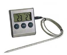 G S D Haushaltsgeräte Bratenthermometer, Edelstahl, Mehrfarbig, 6.5 x 7 x 2 cm