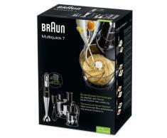 Braun MQ 785 Pâtisserie und Multiquick 7 Stabmixer (750 Watt) schwarz