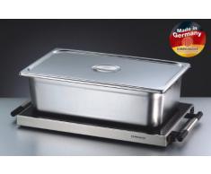 ROMMELSBACHER WPR 305/E - WARMHALTEPLATTE  Gastro  EDELSTAHL - 300 Watt - Edelstahl