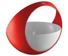 Wesco 223 301-02 Spacy Basket Obstkorb, Rot(rot / weiß)