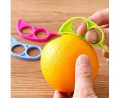Justdolife 20PCS Orangenschäler Kreativer Mausförmiger Fruchthaut Entferner Fruchtschäler