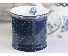 CREATIVE TOPS V&A Encaustic Tile Kompakte Tasse, 450 ml (15 FL oz), Porzellan, One Size