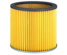 Original Einhell Ersatz-Faltenfilter mit Deckel (passend für Einhell Nass-Trockensauger, Anwendung beim Trockensaugen)