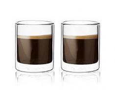 Espressoglas 2er-Set von VIVA scandinavia, Glas mundgeblasen