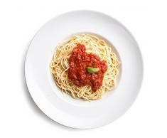 6 x Ø 30 cm Pastateller / Salatteller / Porzellanteller / Nudelteller / Suppenteller   Tiefe 6,2 cm