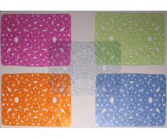 Metaltex Trend Spülbeckeneinlage, Spülbeckenmatte, rechteckig aus Vollgummi, 30 x 40 cm