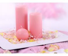 Perlengirlande hellbrosa rosa 5 Stück á 1,3m Tischdeko Hochzeit Taufe Weihnachten