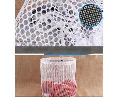 Winkey Wäschenetz zum Waschen von empfindlicher Wäsche, Nylon, weiß, xl