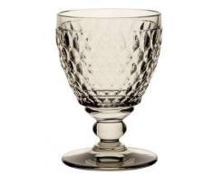 Villeroy & Boch Boston Coloured Weißweinglas Smoke, 230 ml, Kristallglas, Grau