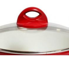 7 tlg. Topfset Keramik Beschichtigung Kochtopfset Kochtopf Set Pfanne Topf sales by JOLTA® (Lila)