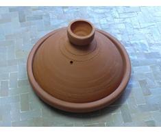 Marokkanische Tajine Kochen/Servieren unglasiert Ø 20 cm für 1 Person - 905703-0005
