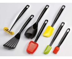 G S D Haushaltsgeräte 31 262 Mini-Silikonschaber, Griff Nylon