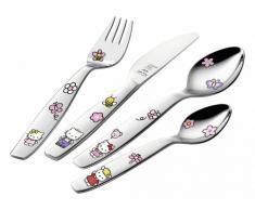 Zwilling 07133-210-0 Kinderbesteck Hello Kitty 4 tlg. Edelstahl 18/10, poliert