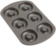 Wilton Donutform mit 6 Mulden, Backform für Donuts